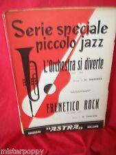G. FOLCESI Frenetico Rock + MIGLIOLI L'Orchestra si diverte 1961 Spartiti JAZZ