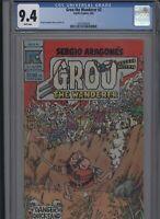 Groo the Wanderer #2 CGC 9.4 Sergio Aragones 1983 Pacific Comics