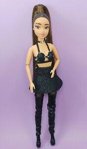 Ariana grande OOAK Sweetener tour 2019 Black Sparkly custom doll
