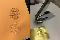 Custom Made logo stamp wedding invitations Embossing Letter paper Press seal