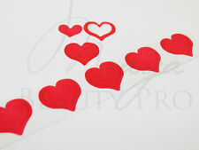 200 Tanning Sticker 3 - WAY HEART Spraytan Tanning Bed Sticker Scrapbooking Love