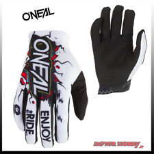GUANTO GLOVE CROSS ENDURO QUAD O'NEAL ONEAL MATRIX VILLAIN BIANCO TAGLIA XXL(11)