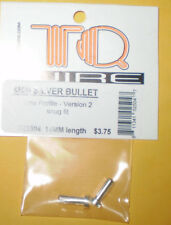 TQ Wire TQ2504 4MM SILVER BULLET LOW PROFILE VERSION 2 SNUG FIT 14MM LENGTH