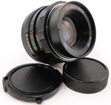 ⭐NEW⭐ MMZ-LOMO Russian LOGO HELIOS 44m Lens M42 + Adapt. Canon EF Mount Camera