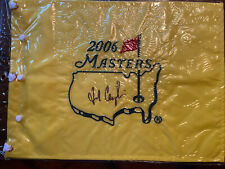 FRED COUPLES signed autographed Masters Flag PGA Golf Augusta National