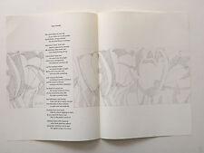 ALEX KATZ lithograph 1967 IN MEMORY OF MY FEELINGS Frank O'Hara MOMA
