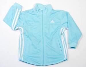 Adidas Zip Front Mesh Track Jacket Girls sz 4  NWT  $41