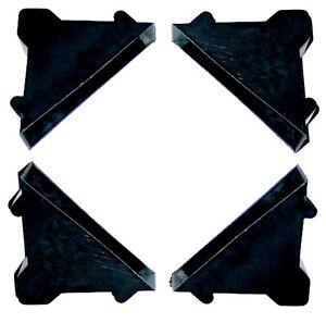 100 Schutzecken für den sicheren Soundboard Heckablagen Bretter Versand 16 mm