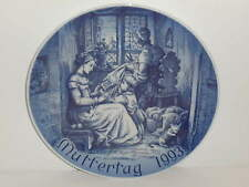 Bareuther Muttertagsteller / Mother's day plate 1993