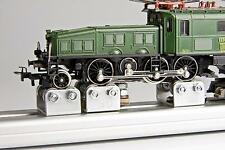 Banc d'essai avec rouleaux H0 Courant alternatif AC Locomotives,numérique/