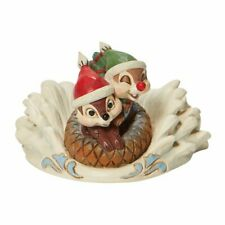 Disney Traditions Fun In The Snow Chip Dale Sledding Christmas Figurine 6008975
