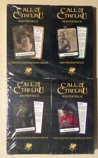 Call of Cthulhu: 4 Keepers Decks Sealed Free Shipping