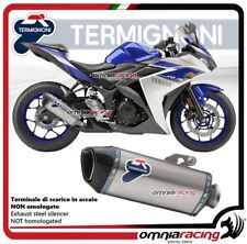 Termignoni FORCE Tubo de Escape en acero racing para Yamaha YZF R3 2015>