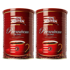 Trung Nguyen Vietnamese coffee - 15 oz can Premium Blend (Pack of 2)