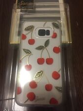 Sonix Clear Coat Shell Case for Samsung Galaxy S7 - Clear / Cherries