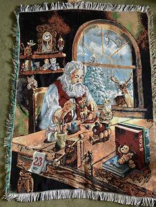 Christmas Throw Blanket Santa The Northwest Company Tapestry