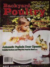 Backyard Poultry Magazine Vol 9 #2 April/May 2014