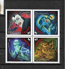 pk29062:Stamps-Canada #1668a Supernatural Block of 4 - MNH