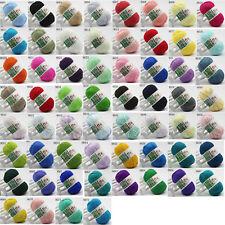 New 60 Colors Soft Bamboo Crochet Cotton Knitting Yarn Baby Kid Knit Wool Yarn