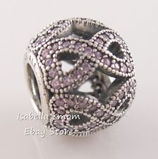 WOMEN'S DAY 2018 Authentic PANDORA Pink RIBBON Charm 797148PCZ NEW w POUCH!