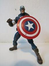 "Marvel Legends Toybiz Series 8 VIII Ultimate Captain America 6"" Action Figure"