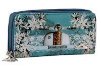 Portafoglio Donna Grande LAMBRETTA con Doppia Cerniera colorato Ecopelle