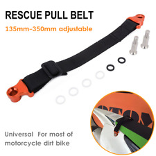 Universal CNC Adjustable Motocycle Rear Pull Handle Lift Tow Rescue Strap Belt