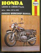 Haynes Manual 0132 - Honda CB350 & CB500 Fours (71 - 75) workshop, service