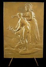 Médaille Dieu Hermès sur ses ailes Déesse Athéna Nantes à Denise Benner Medal