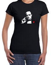 157 Don Corleone women's T-Shirt gangster mob don crime boss mafia godfather 70s
