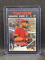 2020 Topps Heritage High Number #575 LaMonte Wade Jr. - Minnesota Twins RC