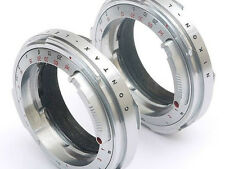 Nikon S rangefinder lenses to Leica M3 M8 M9 adapter ring.