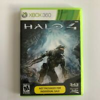 Halo 4 Xbox 360 Two 2 Disc Game 2014