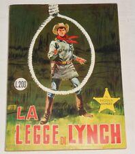 """PICCOLO RANGER """" Gli albi del Cow-boy""""  n.57 Ed. Araldo 1968 !!!!!"""