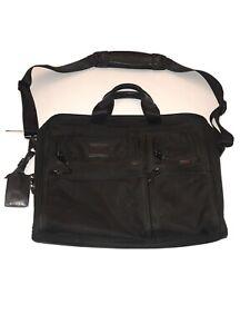 Tumi Alpha Organizer Laptop Briefcase Ballistic Nylon 26114DH