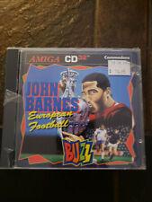CD32 John Barnes European Football (Amiga, 1993, Jewel-Case)