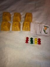 backoff buzzard game (back off buzzard) lot  of parts Pyramid Cards Pawn