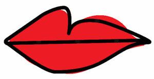 Villanelle Lips Eve British TV Love Psycho Crazy Woman Mad Bird Cult Hero Tshirt