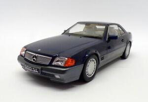 KK Scale 1/18 Scale KKDC180373 - 1993 Mercedes Benz 500SL - Metallic Blue