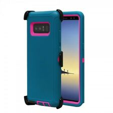 Samsung Galaxy Note 8 Full Protection Defender Case (Clip Fits Otter Box) Black