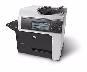 HP LaserJet Enterprise M4555 MFP Printer - 6 MONTH WARRANTY Fully Remanufactured