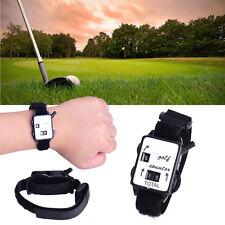 Pocket Mini Wristband Golf Stroke Score Counter Keeper Watch Putt Shot Scorer