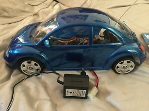 TAMIYA/ CARSON New Beetle blau 1:10 RC, Top Zustand, ..einfach staunen :-)