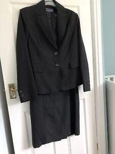 Ladies Business Suit Dress & Jacket Size 14
