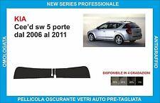 fasce parasole vetri KIA Cee'd sw 5 porte  dal 2006 al 2011