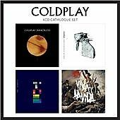 COLDPLAY/Cold Play-The Very Best Of-Greatest Hits Collection 4 CD BOX NEW