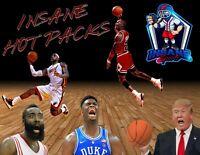 NBA Basketball 🏈Insane Hot Packs, Multiple Hits - Auto/Relics/Graded/RC LOOK👀