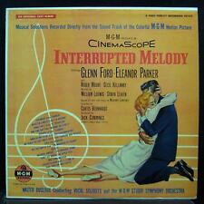 Soundtrack - Interrupted Melody LP VG+ E3185 1st Mono Vinyl 1955 Record