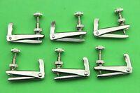 30pcs viola white nickel plated string fine tuners, viola accessories