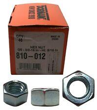 "Dorman 810-012 45 Piece Coarse Thread Bolt Hex Nuts G5 - 3/8"" -16  x 9/16"" inch"